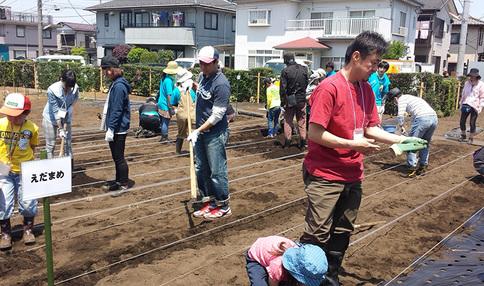 シェア畑 横浜鶴ヶ峰