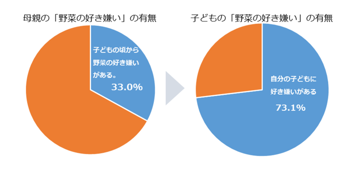 野菜嫌い円グラフ