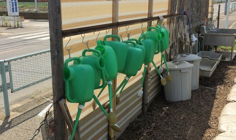 水道、農具、肥料すべてそろっています